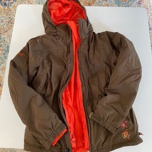 Burton zip out 2 in one jacket